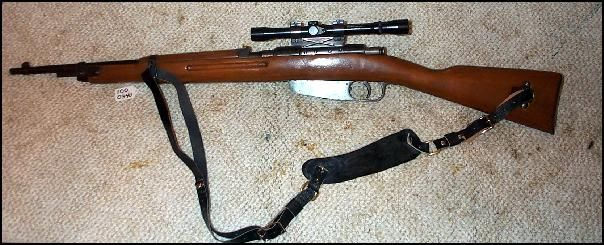 Italian Carcano M38 Kennedy Rifle w/scope & sling ...