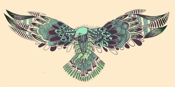 I Think This Looks Like A Vulture But I Like The Designs