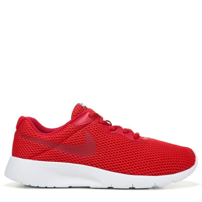 Kids Nike Tanjun Running Shoe Grade School BlackWhiteRed