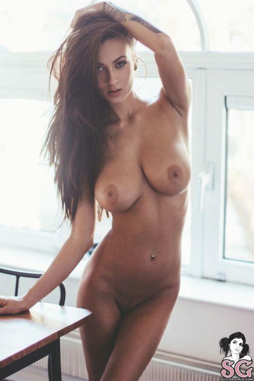 Beautiful boob woman