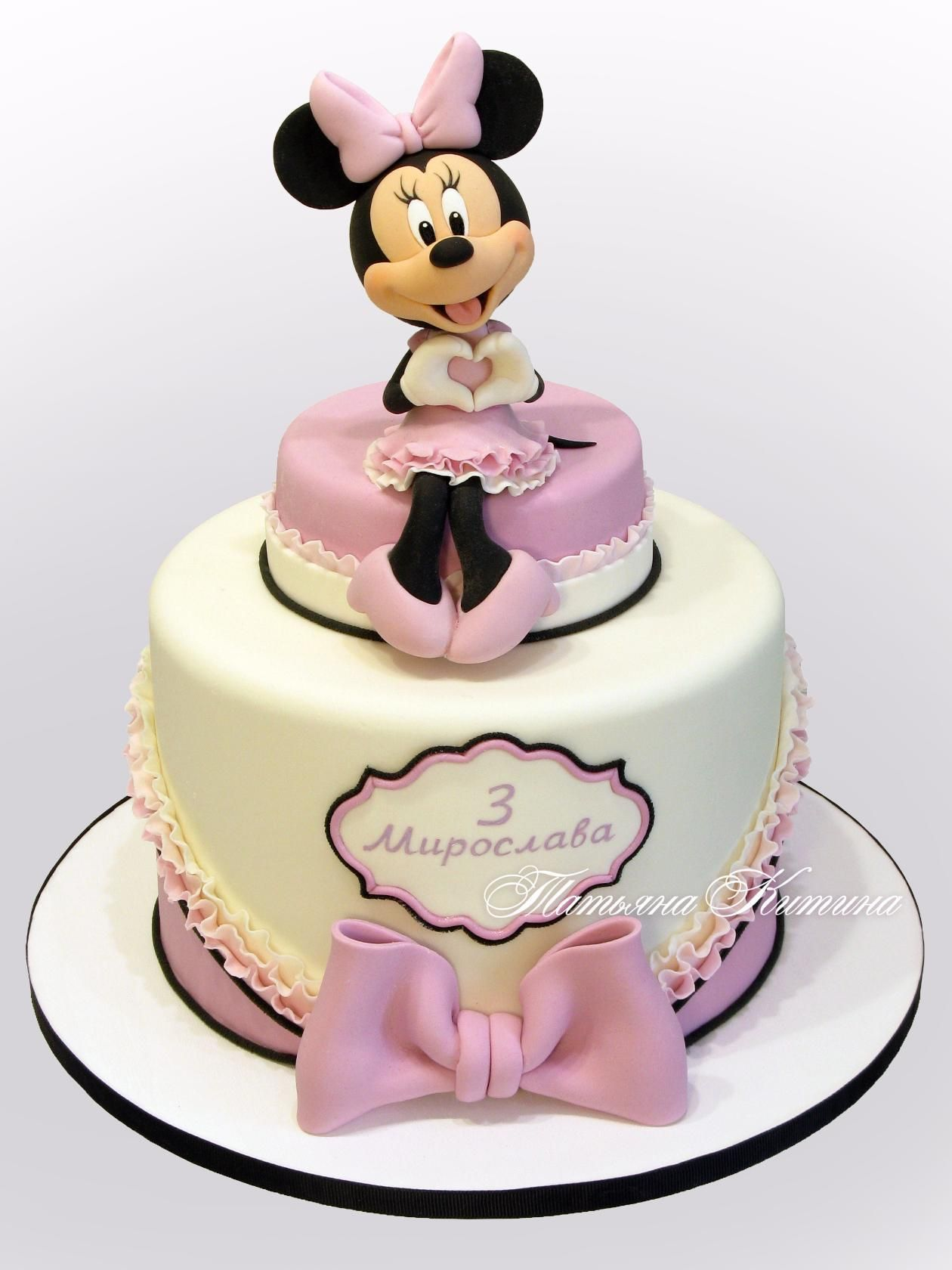 Minnie Maus Küche 39 Одноклассники Mickey Mouse Minnie Mouse Cakes Minnie