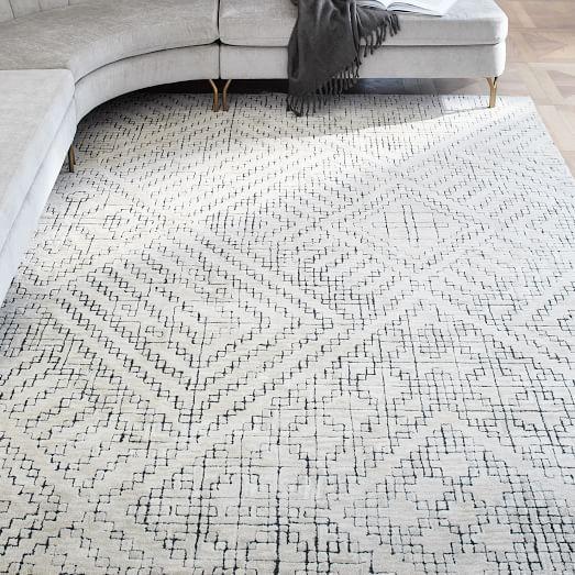 Stone Tile Rug Tile Rug Rugs On Carpet Rugs In Living Room