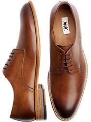 64d2828579a0 Joseph Abboud Calvin Burgundy Cap Toe Lace Up Shoes - Men s Dress Shoes