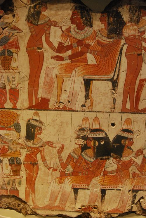 A Feast In Honour Of Nebamun By Konde  Ancient Egypt -4113