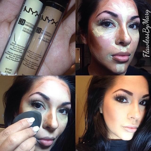 There are different techniques to contour your face but if you are beginner I would suggest you to t...