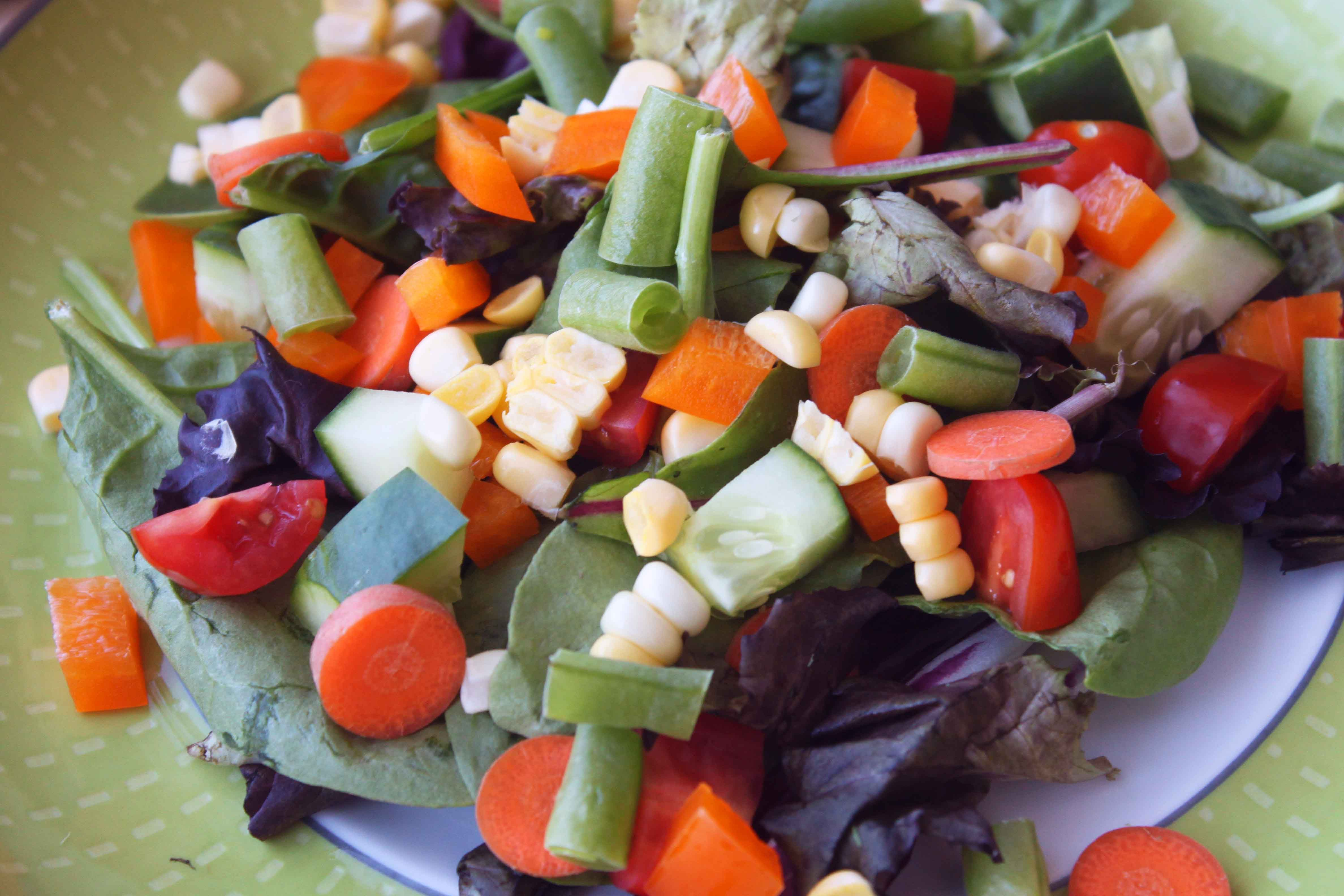 Farmer's Market Ranch Salad by Out To Lunch Creations (Dairy-Free)