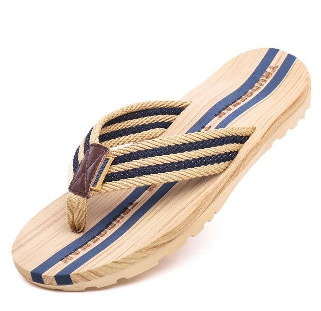 5e0e886025cbd 2017 High Quality Men lover Slides Flip Flops Lightweight Male Sandals  Summer Beach Shoes chinelo masculino plus size 36-45