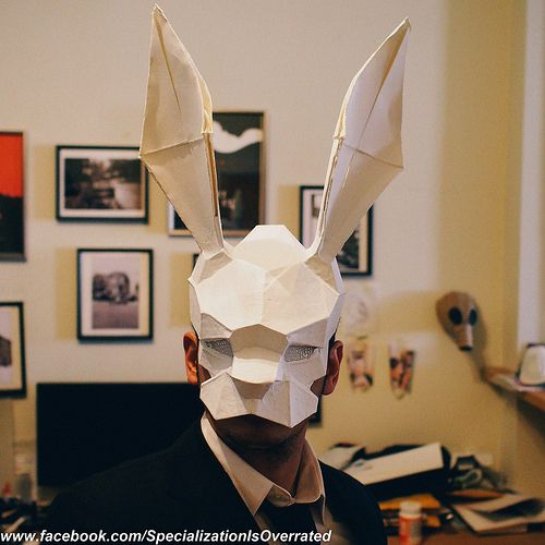 InFamous Second Son Origami Mask So Freakin Cool
