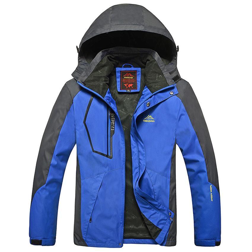 Men outdoor waterproof jacket camping hiking hunting climbing windstopper rain fishing sport windbreaker | worth buying on AliExpress