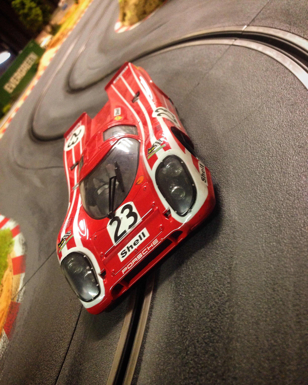 Porsche 917 Slot Car Brm 1 24 On Molettaring Slot Track Winner
