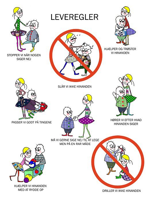 Her Leveregler I Klassen Eller Lign Bornehaveaktiviteter Laering Laeringsaktiviteter