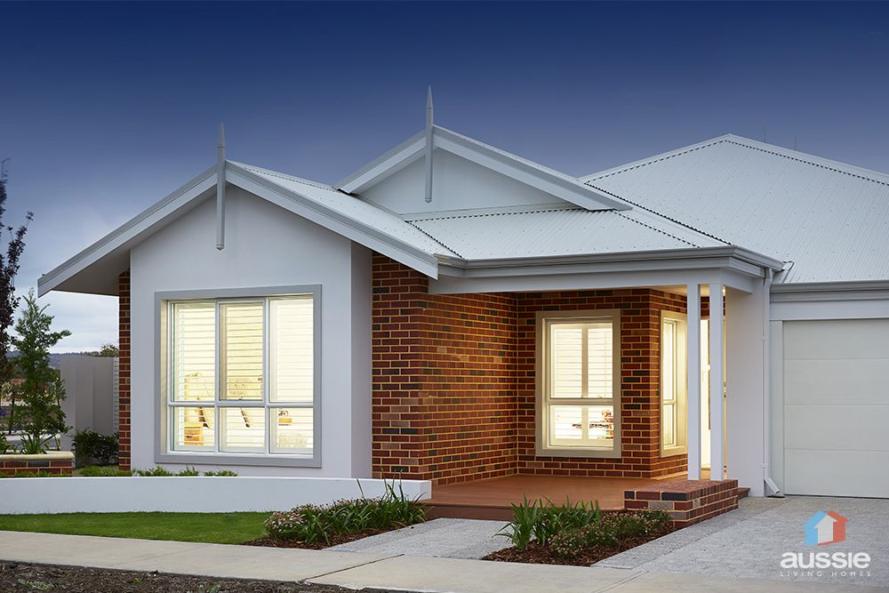 Feature Red Brick Exterior Seen In The Aspect Display Home By Aussielivinghomes Elevation Facade Display Homes Red Brick Exteriors Exterior Brick