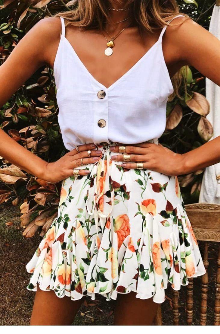 Photo of Stilfulde 100+ afslappet sommerudstyrideer, #casualoutfits # beklædning # mode #Styles