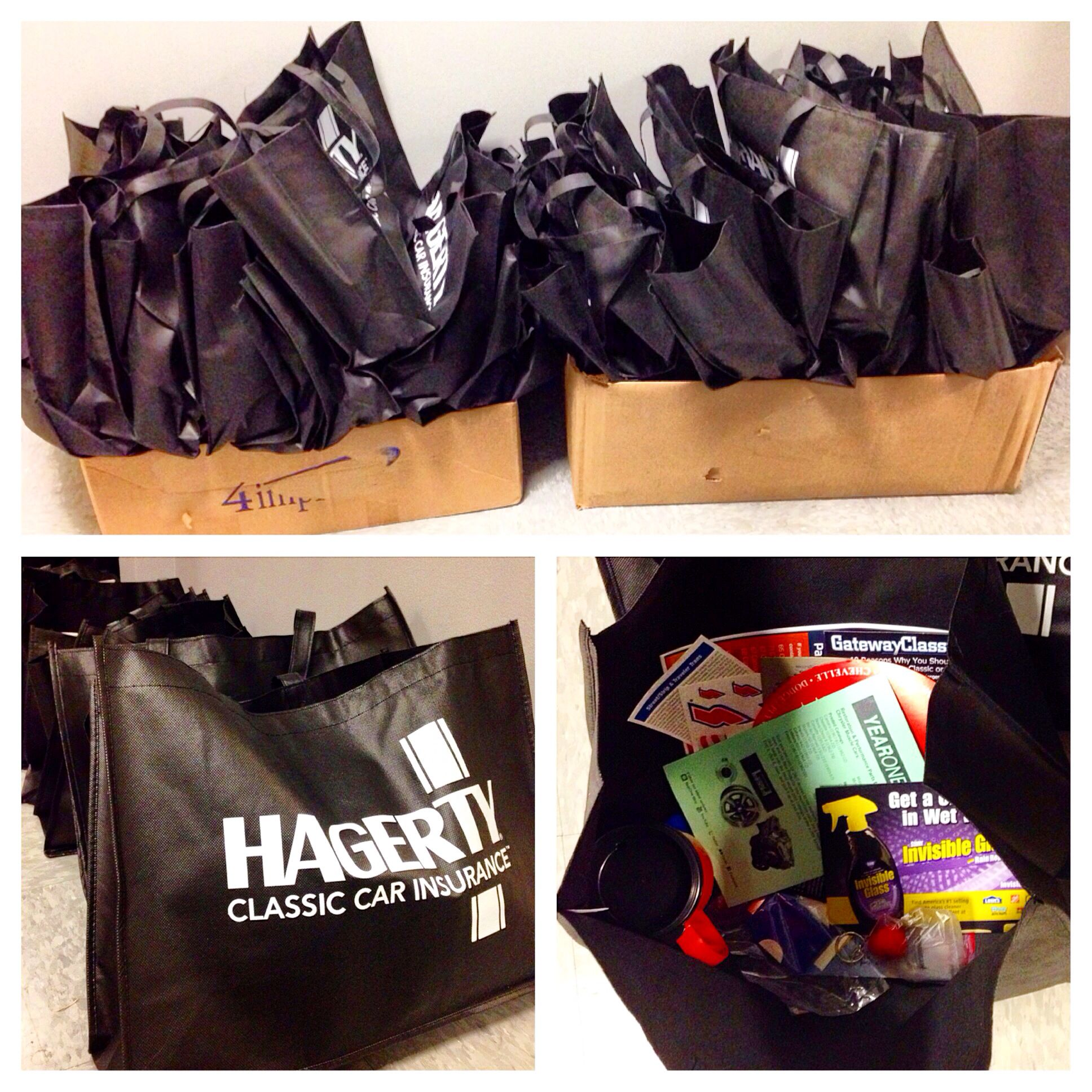 Goodie Bags are locked & loaded! If you were one of the
