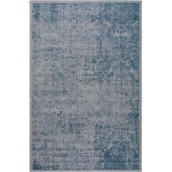 Photo of benuta Flachgewebeteppich Frencie Blau 240×340 cm – Vintage Teppich im Used-Look benuta