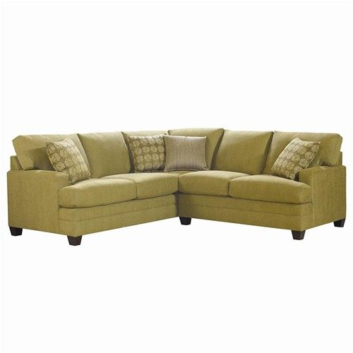 CU 2 L Shaped Upholstered Sectional Group by Bassett John V