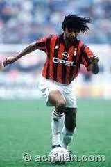 Ruud Gullit. AC Milan