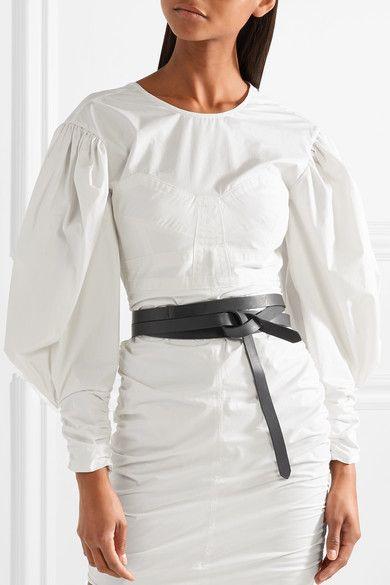 Lonny Leather Belt - Black Isabel Marant ToP00NAFO