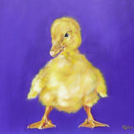 Carol Gillan - Carol Gillan Duck Amethyst.JPG