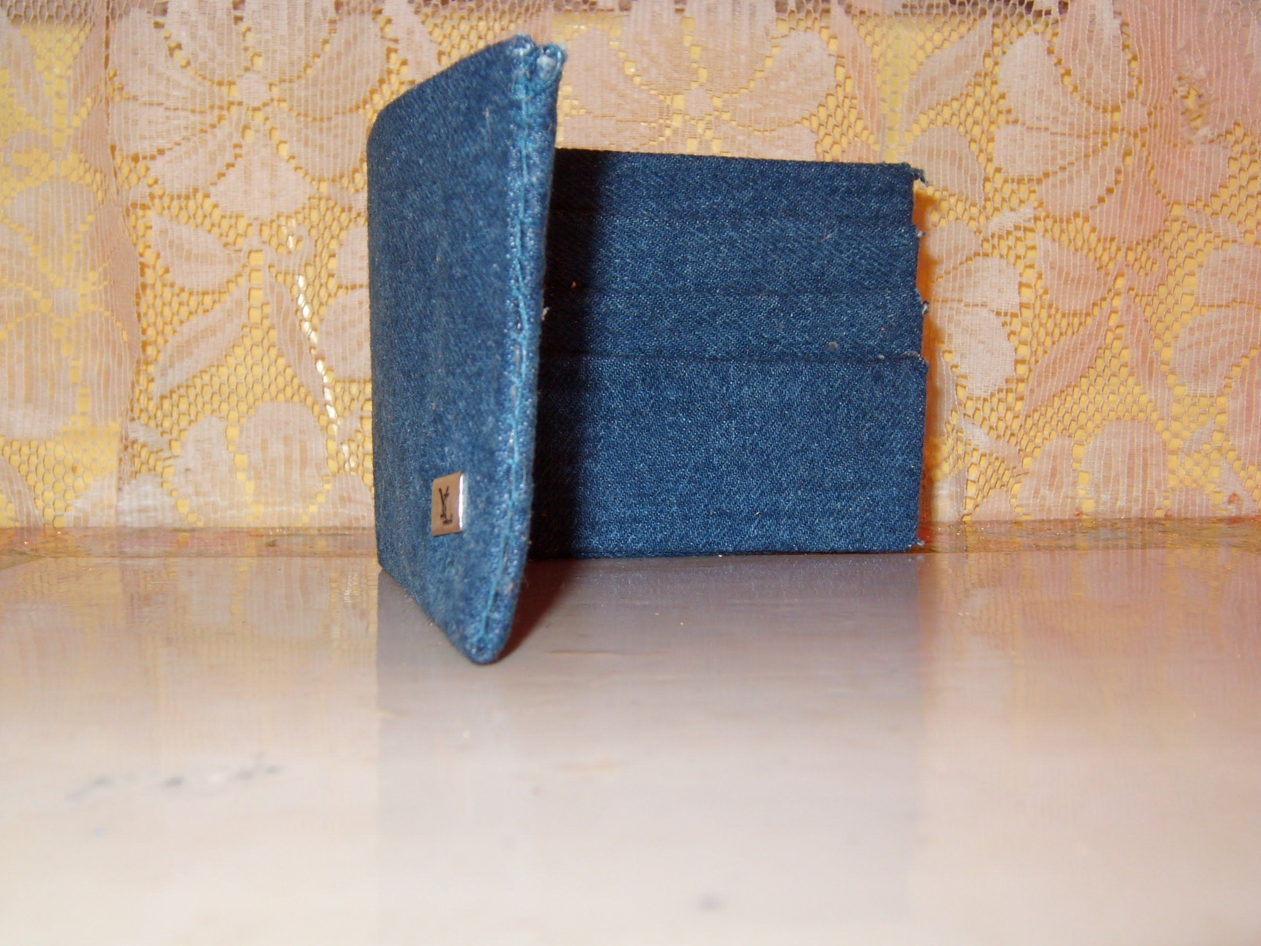 56469c946 Paso a paso de cómo hacer una cartera para hombre preciosa con material de  reciclaje Tetrapak