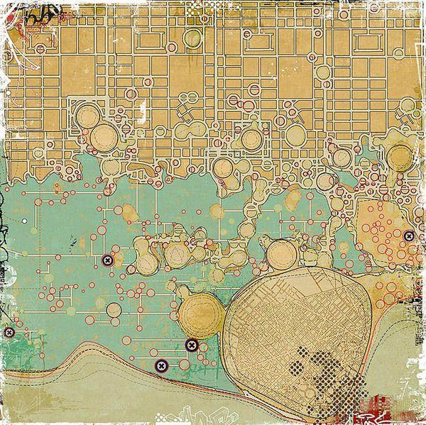 Settlements and City Strategies by Lekan Jeyifo, via Behance