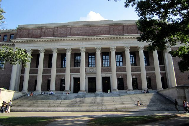 Cambridge Harvard Square Harvard University Widener Libary Harvard Yard Harvard Library University
