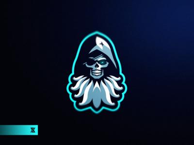 Hooded Ninja Mascot Logo Logo keren