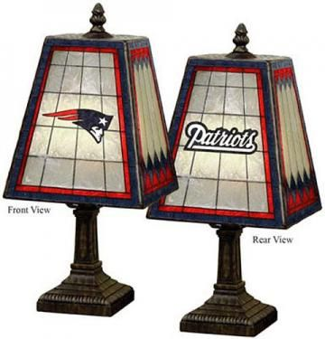 Memory Company Louisville Cardinals Stained Glass Table Lamp