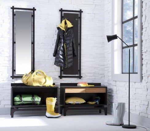17 cool ideas for a cozy hallway - @tuhurfie
