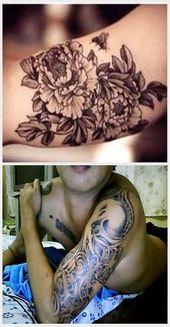 Photo of über Tattoo auf Pinterest | Bedeutung der Blumen Kleines Tintenfisch Tattoo …, #flowe …