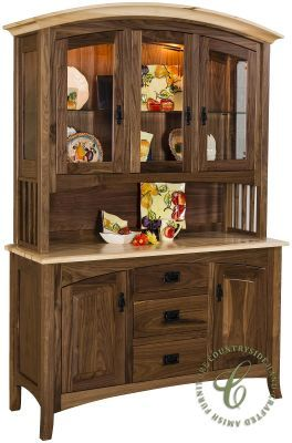 mountain park china cabinet and hutch rh pinterest com