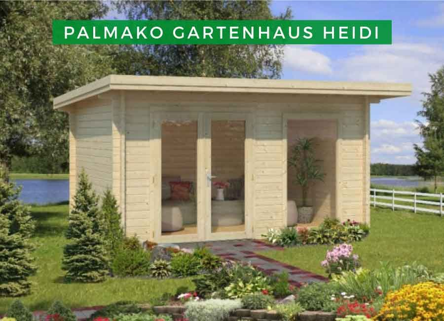 Palmako Gartenhaus Heidi 11,7 m² ISO Gartenhaus