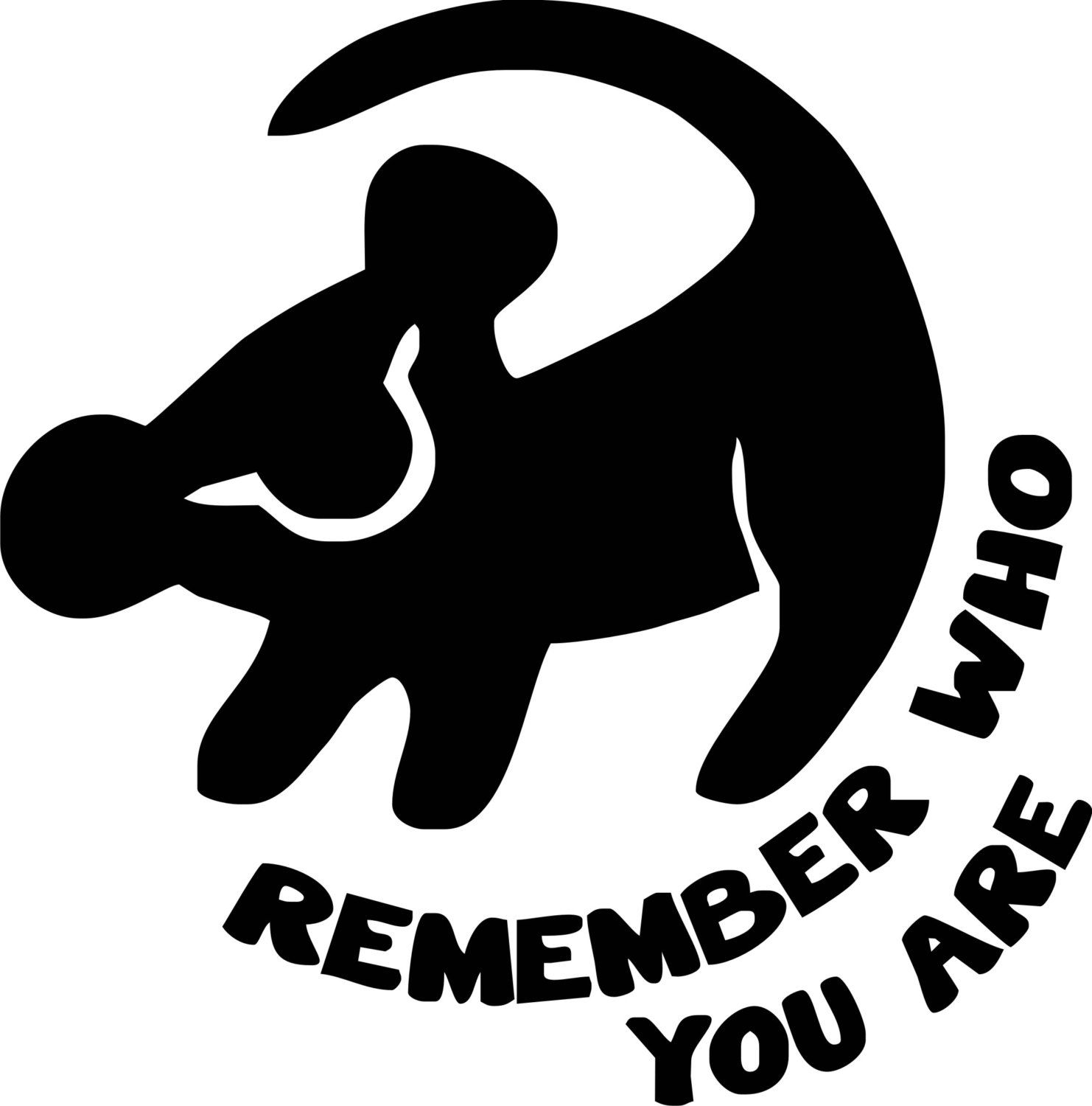 Svg file lion king silhouette remeber who you are simba rifiki simba silhouette lion king quote remember who you are biocorpaavc Gallery
