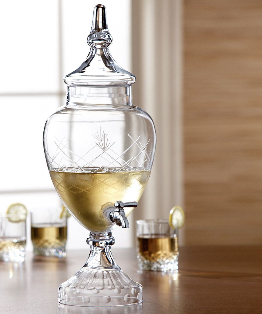 Look at this Winston Glass 128-Oz. Beverage Dispenser on #zulily today!