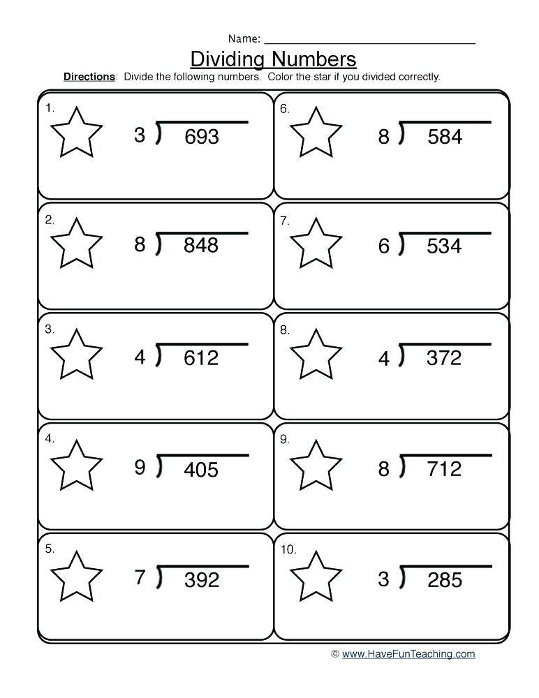 Division Worksheets Division Worksheets Grade 3 Division Worksheets Math Fact Worksheets