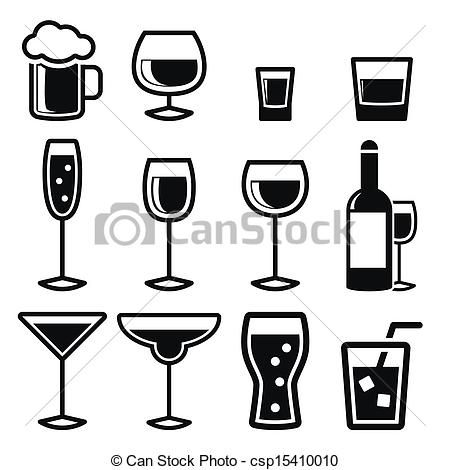 Alcoholic Drinks Icons Google Search Drink Icon Wine Glass Designs Icon
