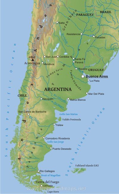 Meet Pope Francis For Kids And Their Parents The Ojays - Map 0f argentina