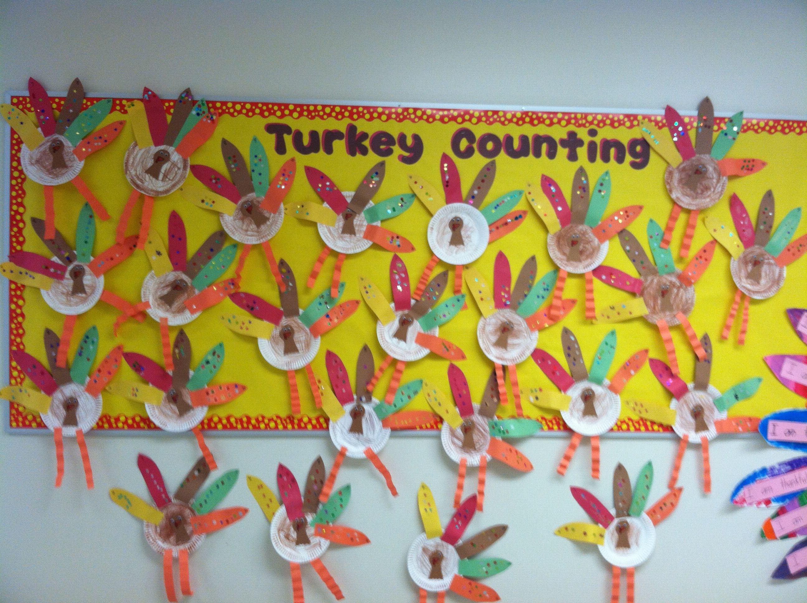 Turkey Counting Numbers 6 10
