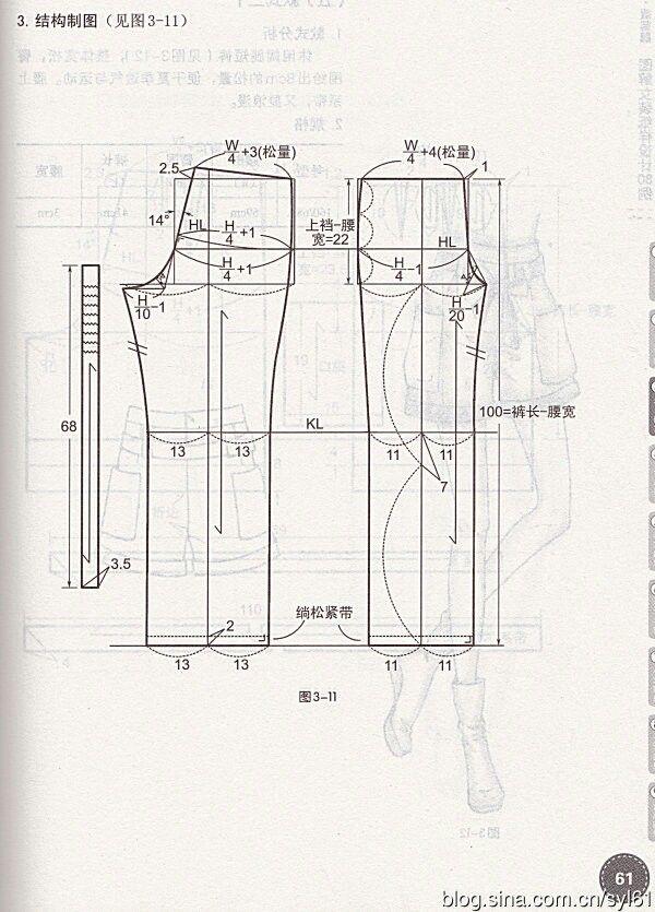 Pin by Л Ховрах on китай   Pinterest   Pants pattern, Patterns and ...
