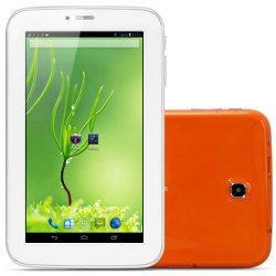 HighLights: Type: Phone Tablet PC CPU: MTK6515 ARM Cortex A9 1GHz GPU: PowerVR SGX531 OS: Google Android 4.1.2 RAM: 512MB  ROM: 4GB Internal storage capacity: 2.45GB  Single SIM, Single standby  Screen: 7 inch capacitive 5-point touch panel 800 x 480 (WVGA)  External storage: Micro SD c... Click on Picture to go to Store