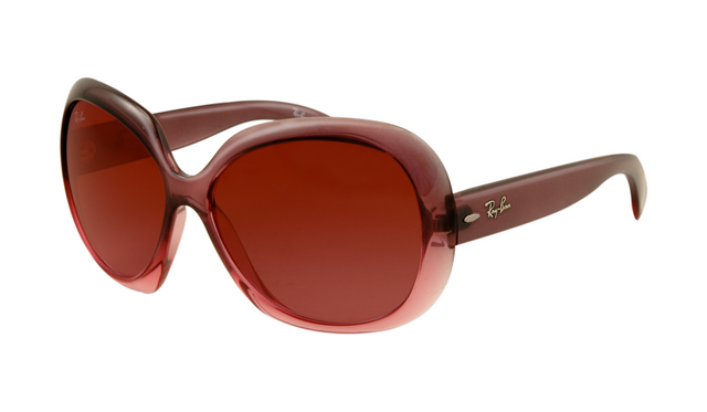 9b117d31ace0a Ray Ban RB4098 Jackie Ohh II Sunglasses Wine Red Frame Wine Red Gradient  Lens
