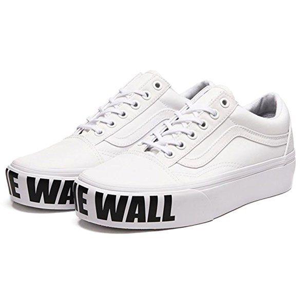 Vans Old Skool Plateau Sneaker Damen 5 5 Us 37 0 Eu Amazon De Sport Freizeit Vans Sneakers Platform Vans