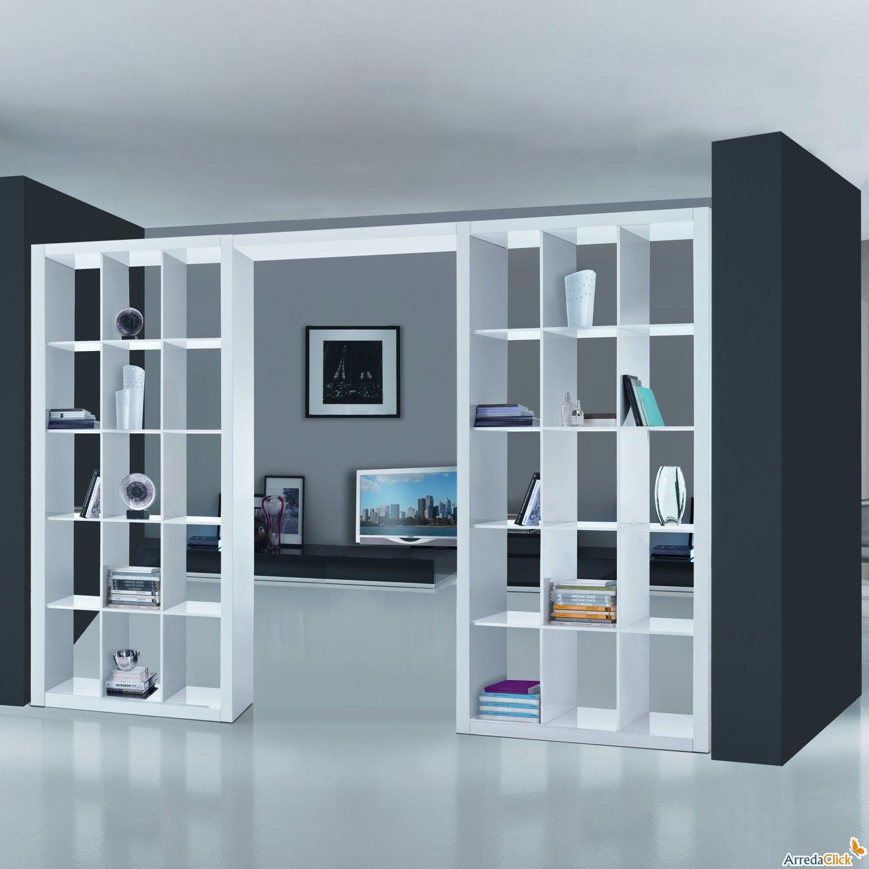 Libreria Bifacciale A Soffitto parete divisoria a libreria