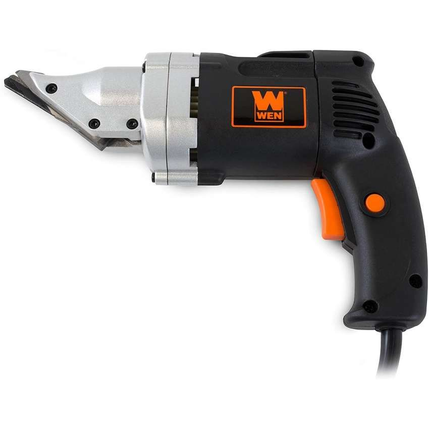 10 Wen 3650 Corded 4 0 Amp Variable Speed Electric Metal Shear In 2020 Metal Cutter Metal Shears Electricity