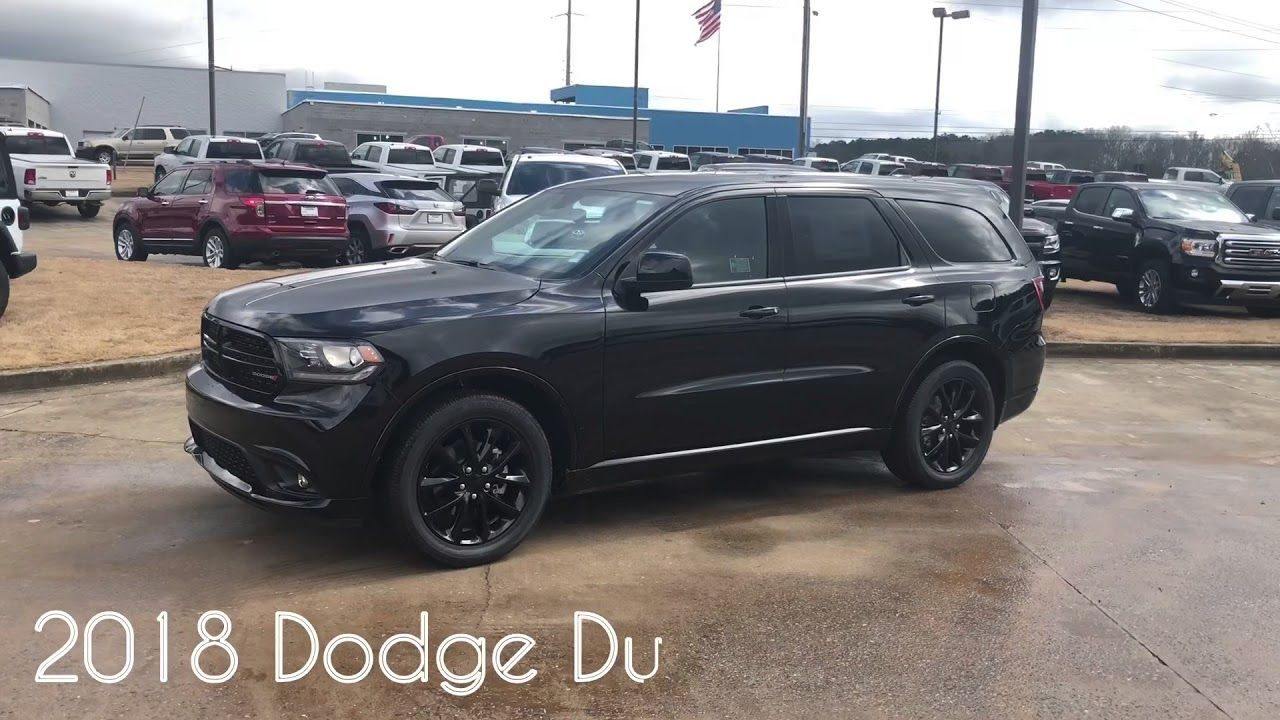 2018 Dodge Durango Sxt Plus Blacktop Edition Dayton Ohio 2018 Dodge Durango 2018 Dodge Durango