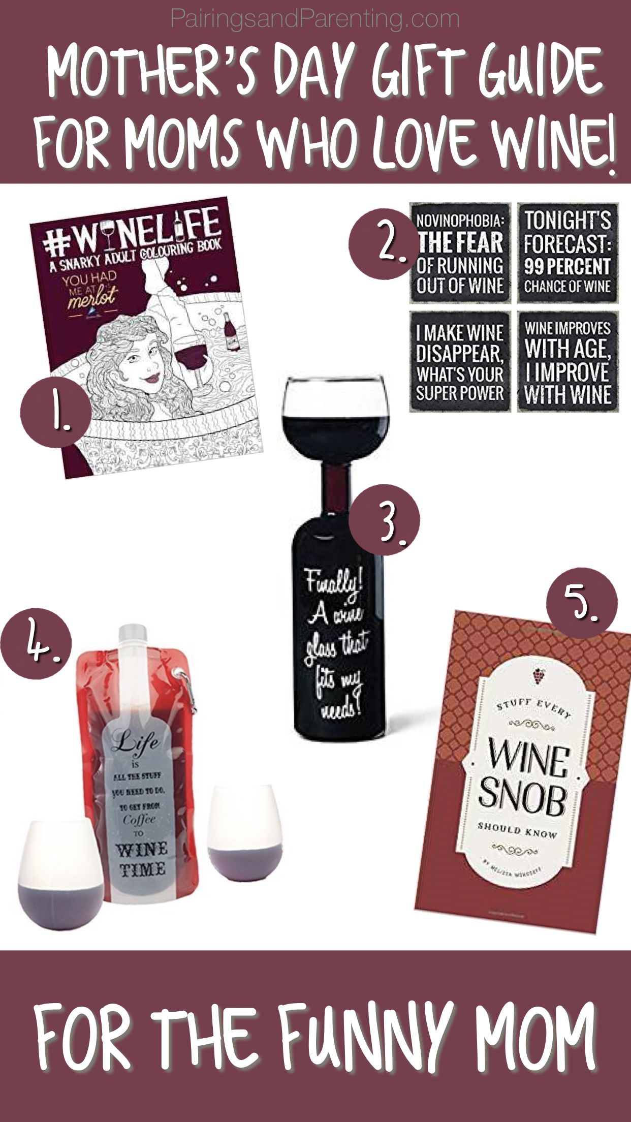 Mother S Day Gift Guide For Moms Who Love Wine Mother Day Gifts Wine Signs Gifts