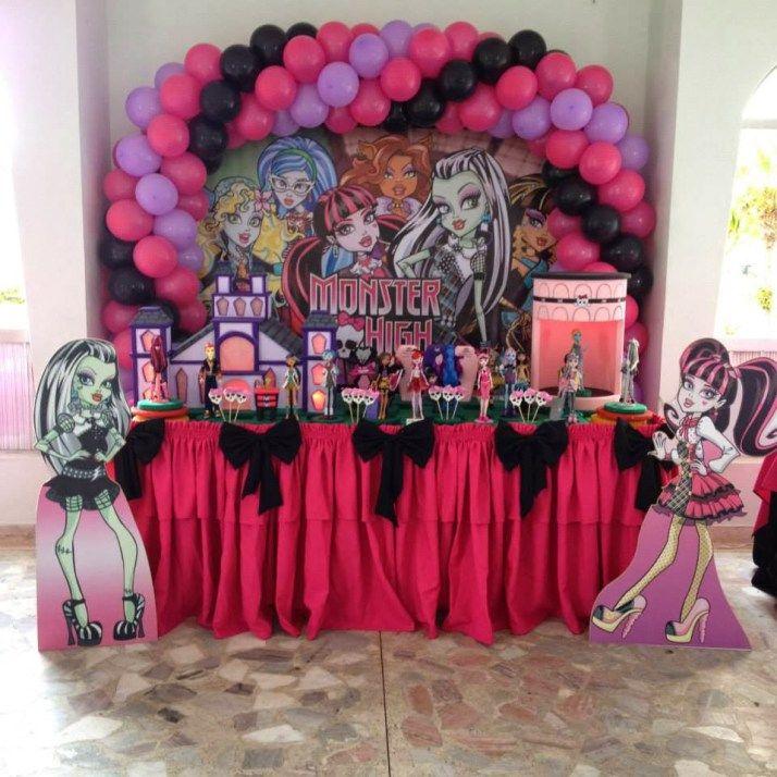 Festa Monster High Festa Party Festa E Decoracao Festa
