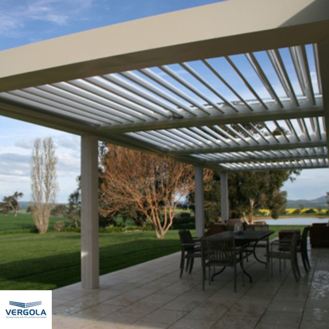 Make The Most Of Your Outdoor Living Space With A Vergola Delivering The Best Of Both Worlds Pergola Vergola Outdoorliv Pergola Cost Outdoor Rooms Pergola