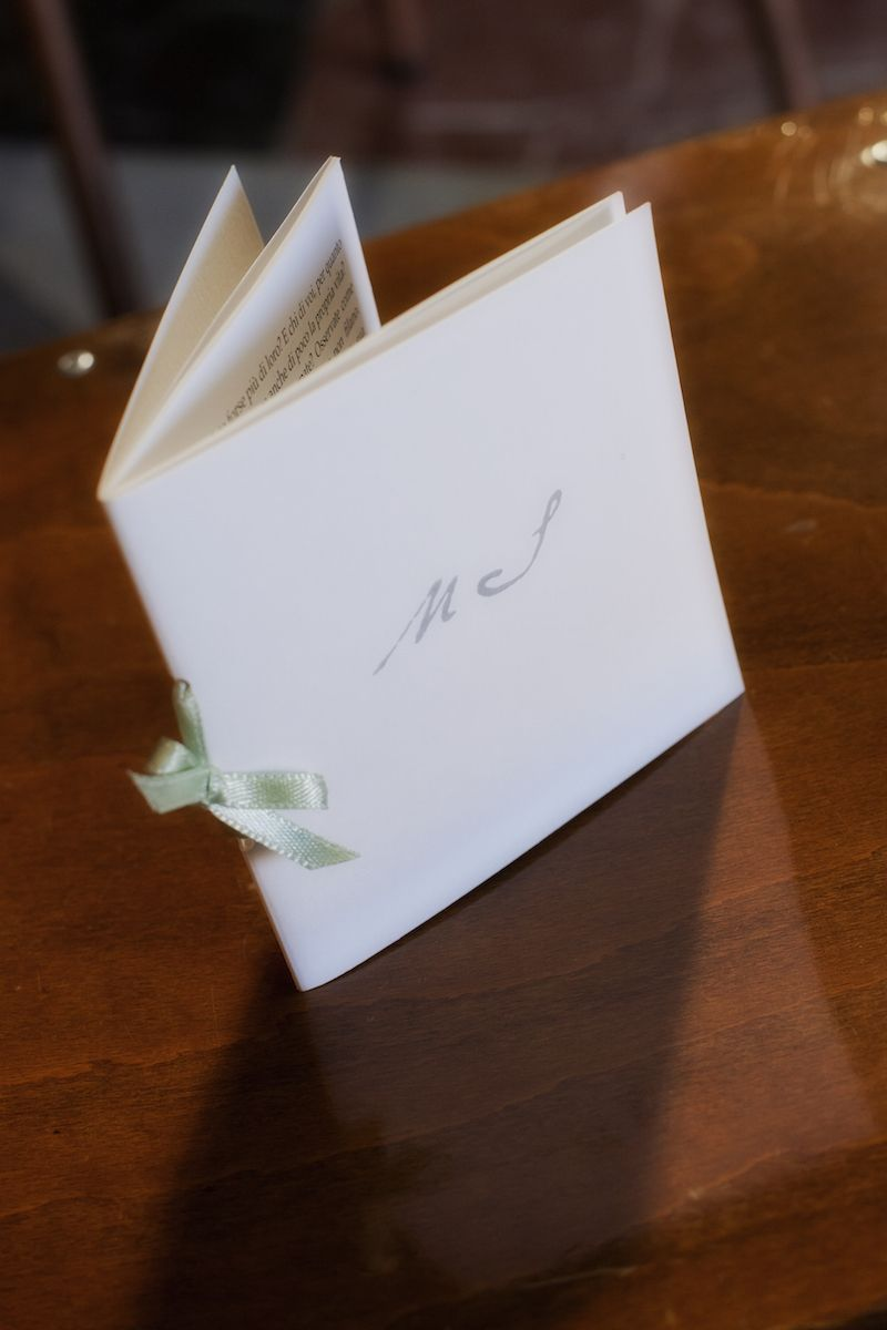 Libretto Della Messa Matrimonio Idee Per Matrimoni Wedding Planner Biglietti Di Nozze