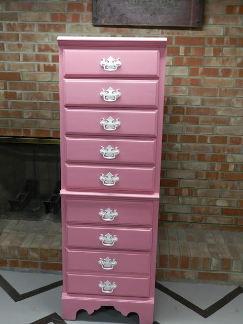 pretty pink lingerie chest